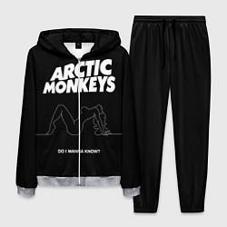 Костюм мужской Arctic Monkeys: Do i wanna know? цвета 3D-меланж — фото 1