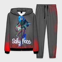 Костюм мужской Sally Face: Rock Star цвета 3D-черный — фото 1