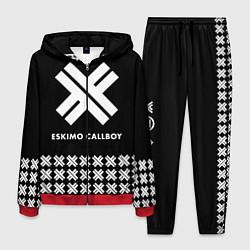 Костюм мужской Eskimo Callboy: Cross цвета 3D-красный — фото 1