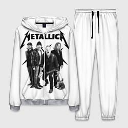 Костюм мужской Metallica цвета 3D-меланж — фото 1