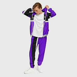 Костюм мужской Balenciaga: Violet Fashion цвета 3D-меланж — фото 2