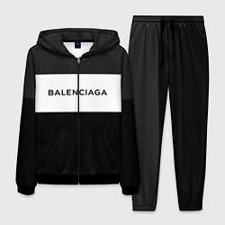 Костюм мужской Balenciaga: Black Style цвета 3D-черный — фото 1