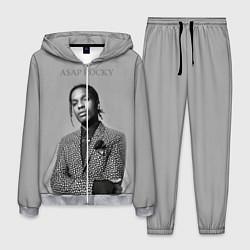 Костюм мужской ASAP Rocky: Grey Fashion цвета 3D-меланж — фото 1