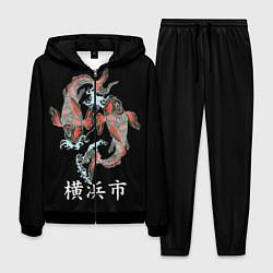 Костюм мужской Иокогама цвета 3D-черный — фото 1