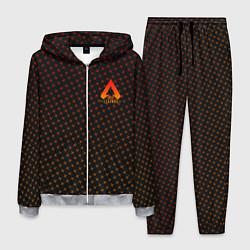 Костюм мужской Apex Legends: Orange Dotted цвета 3D-меланж — фото 1