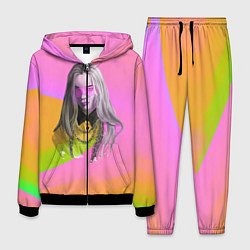 Костюм мужской Billie Eilish: Pink Fashion цвета 3D-черный — фото 1