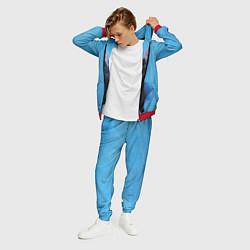 Костюм мужской Billie Eilish: Blue Fashion цвета 3D-красный — фото 2