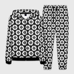 Костюм мужской OBLADAET цвета 3D-черный — фото 1