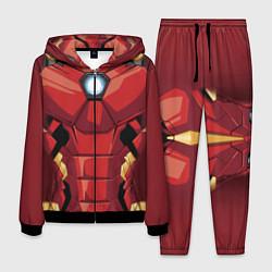 Костюм мужской Iron Man Costume цвета 3D-черный — фото 1