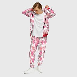 Костюм мужской Рай фламинго цвета 3D-красный — фото 2
