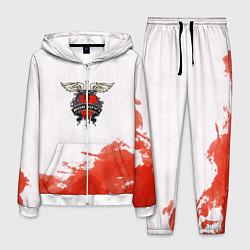 Костюм мужской Bon Jovi цвета 3D-белый — фото 1