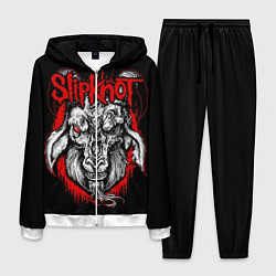Костюм мужской Slipknot: Devil Goat цвета 3D-белый — фото 1