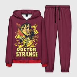 Костюм мужской Doctor Strange цвета 3D-красный — фото 1
