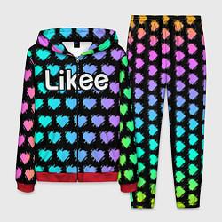 Костюм мужской Likee LIKE Video цвета 3D-красный — фото 1