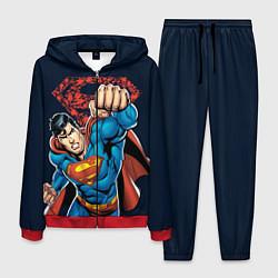 Костюм мужской Superman цвета 3D-красный — фото 1