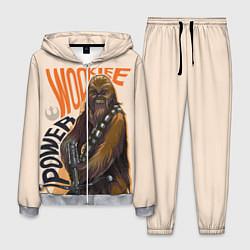 Костюм мужской Wookie Power цвета 3D-меланж — фото 1