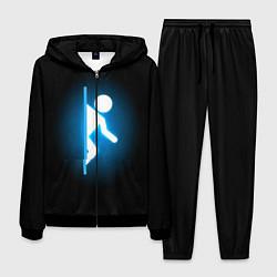 Костюм мужской Portal цвета 3D-черный — фото 1