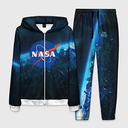 Костюм мужской NASA цвета 3D-белый — фото 1