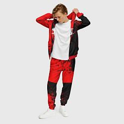 Костюм мужской My Chemical Romance цвета 3D-красный — фото 2