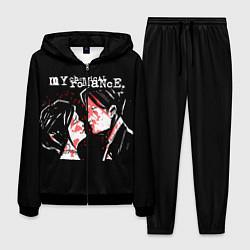 Костюм мужской My Chemical Romance цвета 3D-черный — фото 1