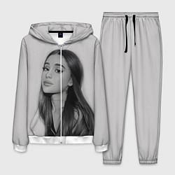 Костюм мужской Ariana Grande Ариана Гранде цвета 3D-белый — фото 1