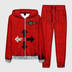 Костюм мужской THREE DAYS GRACE RED цвета 3D-меланж — фото 1