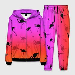 Костюм мужской Фламинго цвета 3D-черный — фото 1