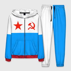Костюм мужской ВМФ СССР цвета 3D-красный — фото 1