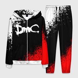 Костюм мужской DEVIL MAY CRY DMC цвета 3D-белый — фото 1