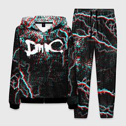 Костюм мужской DEVIL MAY CRY DMC цвета 3D-черный — фото 1