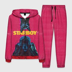 Костюм мужской STARBOY цвета 3D-красный — фото 1