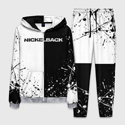 Костюм мужской Nickelback цвета 3D-меланж — фото 1