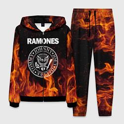 Костюм мужской Ramones цвета 3D-черный — фото 1
