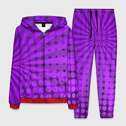 Костюм мужской Bona Fide Одежда для фитнеcа цвета 3D-красный — фото 1