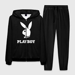 Костюм мужской PLAYBOY цвета 3D-черный — фото 1