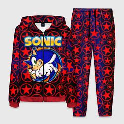 Костюм мужской Sonic цвета 3D-красный — фото 1