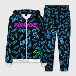 Костюм мужской Paramore RIOT! цвета 3D-белый — фото 1
