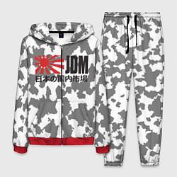 Костюм мужской JDM Style цвета 3D-красный — фото 1