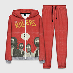 Костюм мужской The Killers цвета 3D-меланж — фото 1