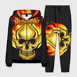Костюм мужской Megadeth цвета 3D-черный — фото 1