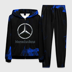 Костюм мужской Mercedes цвета 3D-черный — фото 1