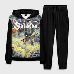 Костюм мужской Sabaton цвета 3D-черный — фото 1