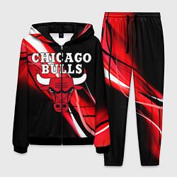 Костюм мужской CHICAGO BULLS цвета 3D-черный — фото 1