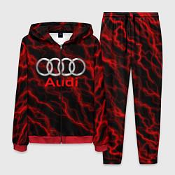 Костюм мужской AUDI цвета 3D-красный — фото 1