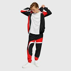Костюм мужской EVO Racer uniform цвета 3D-черный — фото 2
