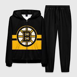 Костюм мужской BOSTON BRUINS NHL цвета 3D-черный — фото 1