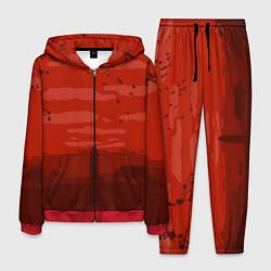 Костюм мужской Сакура цвета 3D-красный — фото 1