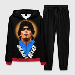 Костюм мужской Diego Maradona цвета 3D-красный — фото 1
