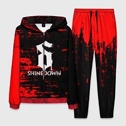 Костюм мужской Shinedown цвета 3D-красный — фото 1