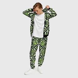 Костюм мужской Green Snake цвета 3D-черный — фото 2